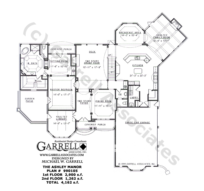 House plans by garrell associates Home design and style